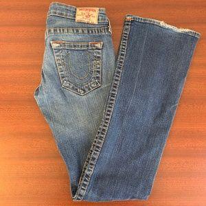 True Religion Emily Stone & Tint Jeans